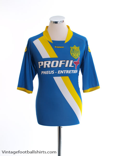 2009-10 Nantes Away Shirt XXL