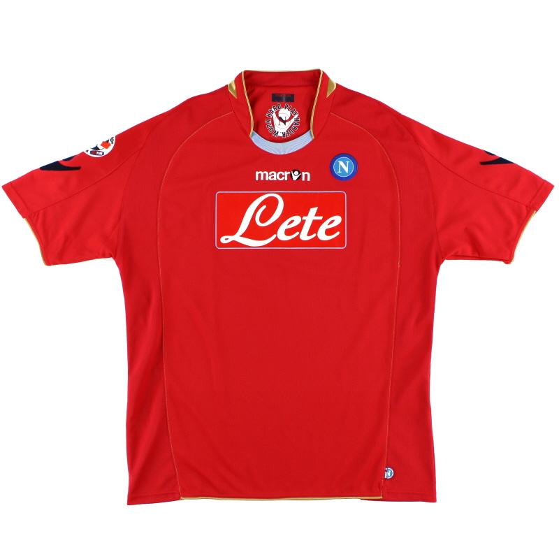 2009-10 Napoli Third Shirt L