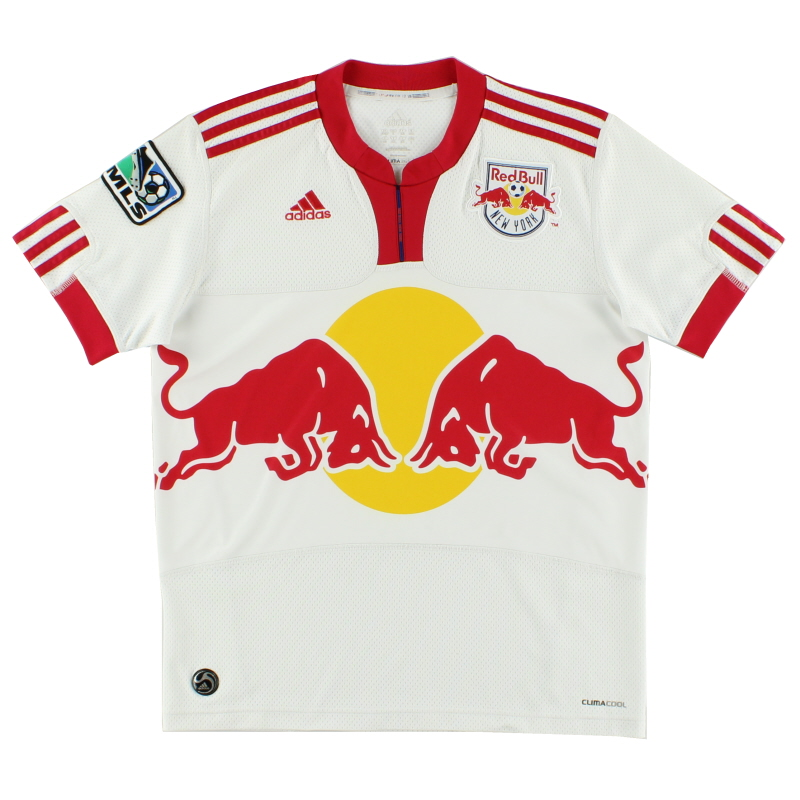 2009-10 New York Red Bull Home Shirt Y