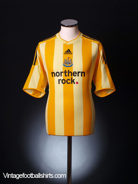 2009-10 Newcastle Away Shirt L