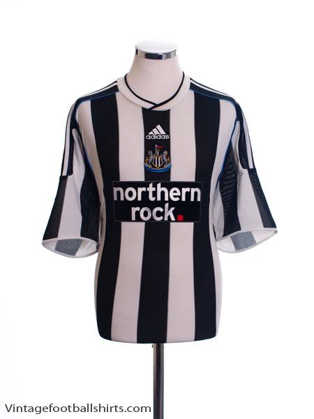 2009-10 Newcastle Home Shirt M - E84395