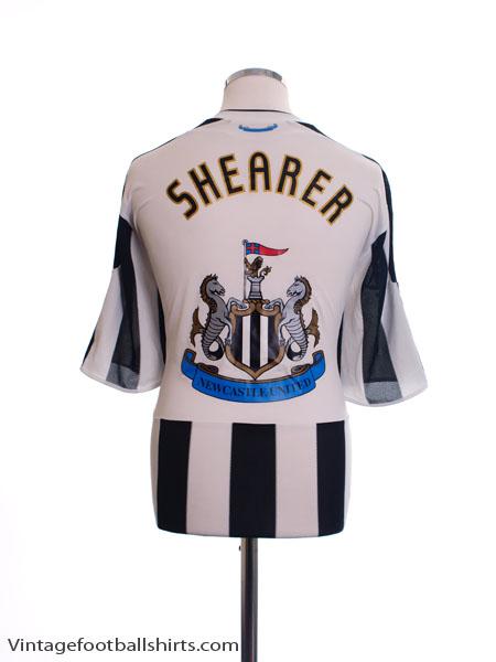 2009-10 Newcastle Home Shirt Shearer XL