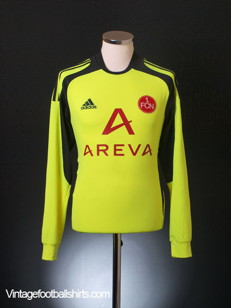 2009-10 Nurnberg Goalkeeper Shirt S