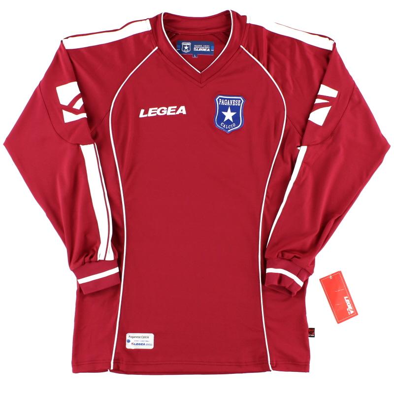 2009-10 Paganese Away Shirt L/S *w/tags* L