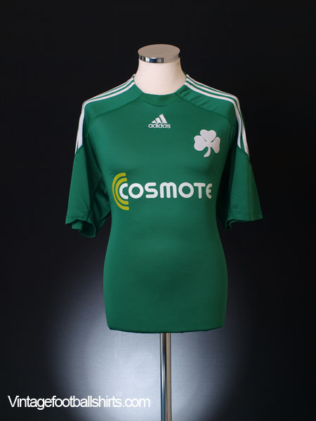 2009-10 Panathinaikos Home Shirt XL