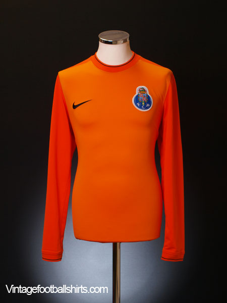 2009-10 Porto Goalkeeper Shirt L/S M