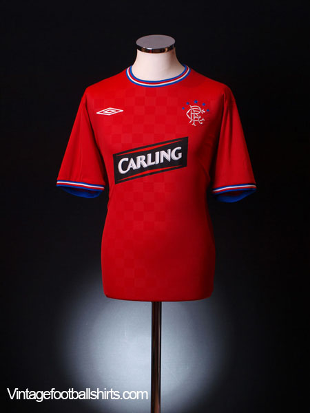 2009-10 Rangers Away Shirt *As new* XL