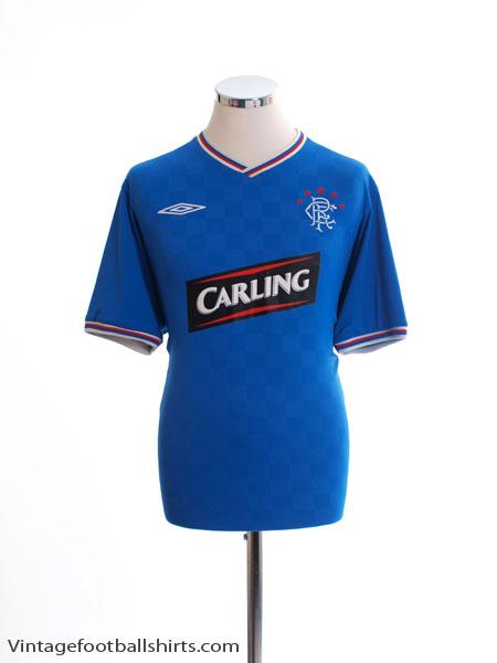 2009-10 Rangers Home Shirt L