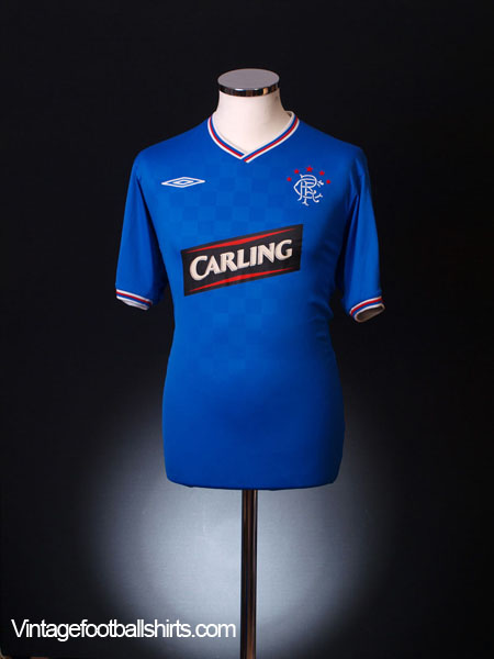 2009-10 Rangers Home Shirt XL