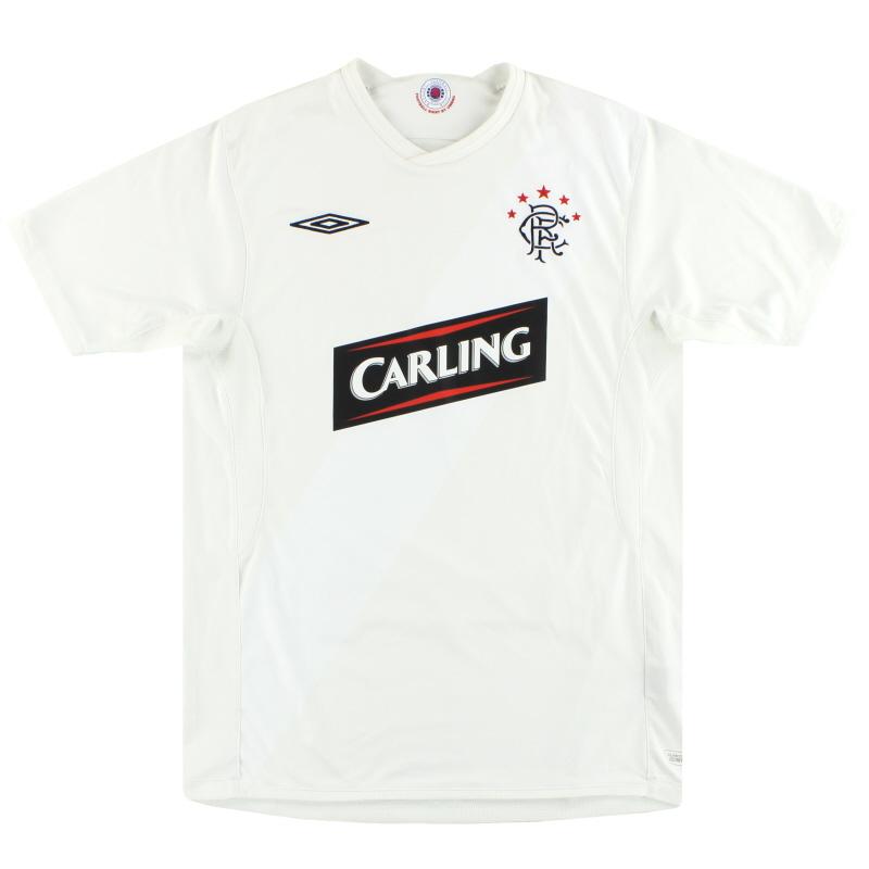 2009-10 Rangers Umbro Third Shirt M
