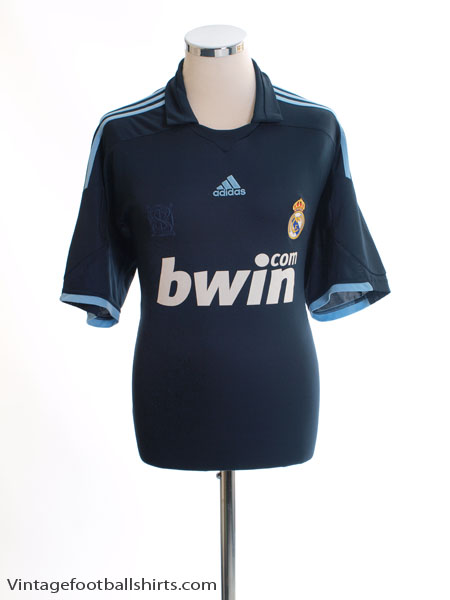 2009-10 Real Madrid Away Shirt L - E84339