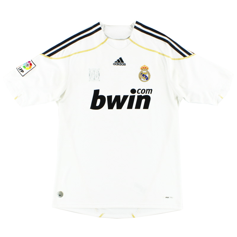 2009-10 Real Madrid Home Shirt M - E84352
