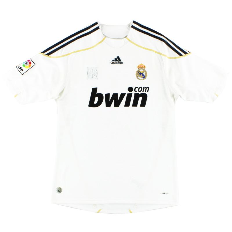 2009-10 Real Madrid Home Shirt S - E84352