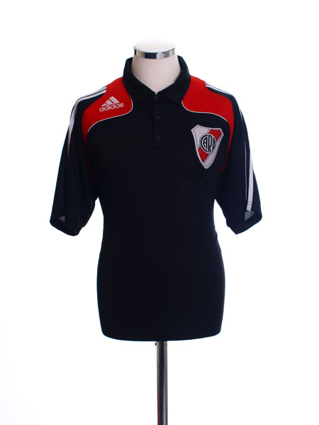 2009-10 River Plate Polo Shirt L