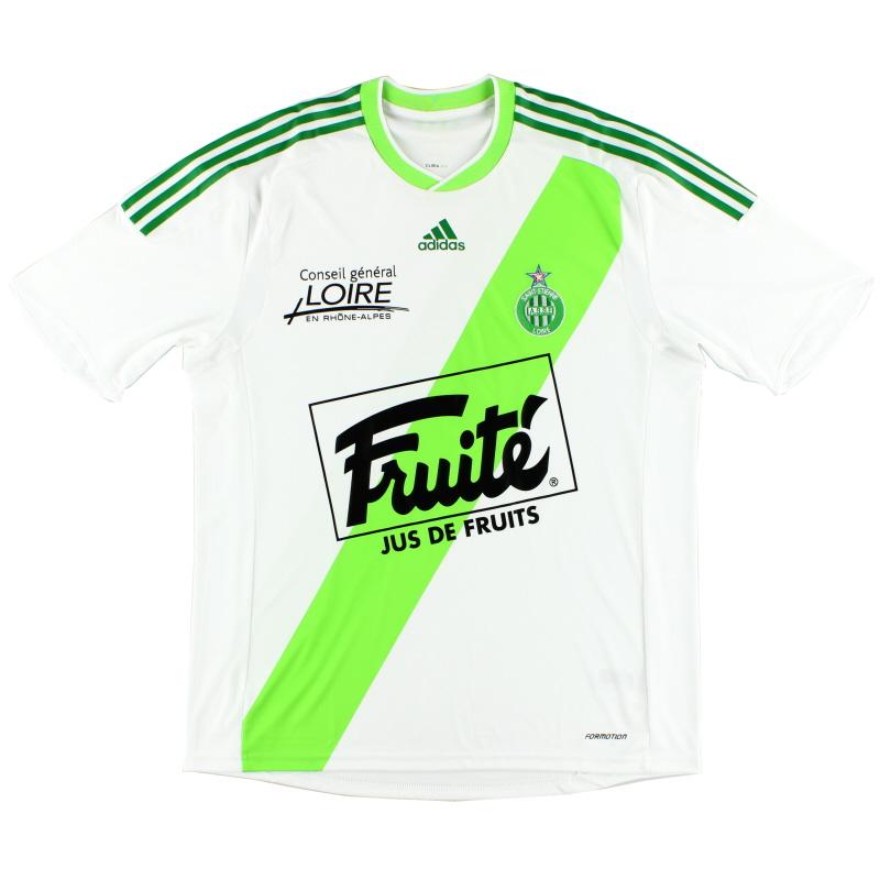 2009-10 Saint Etienne 'Formotion' Away Shirt *Mint* XL - E83817