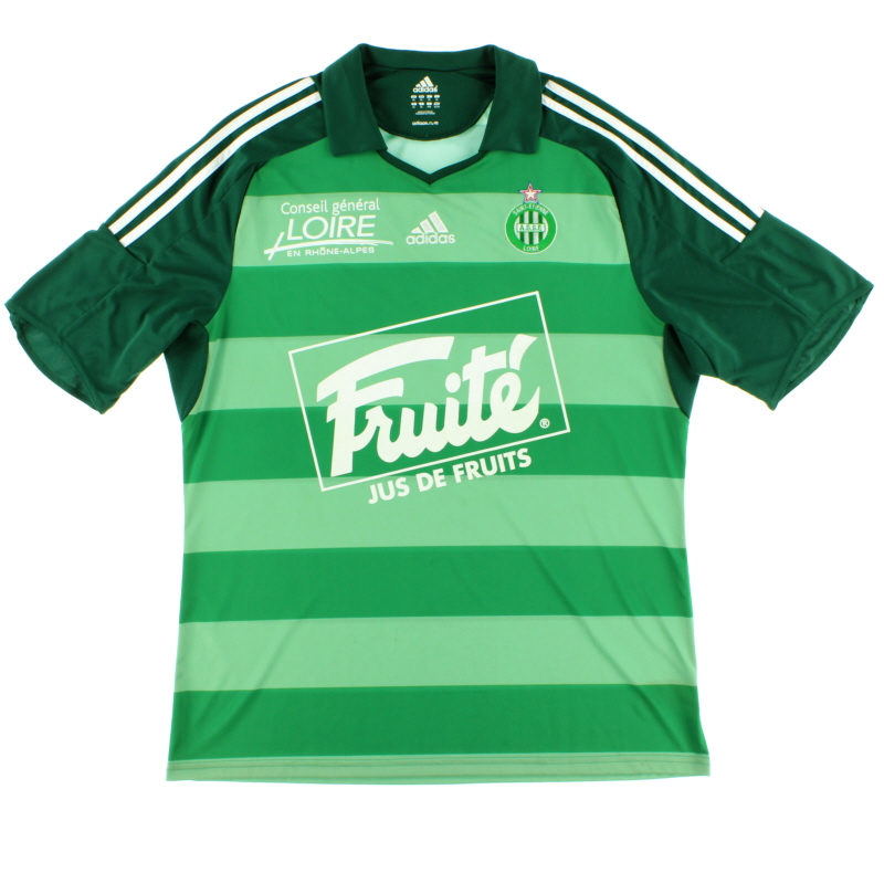 2009-10 Saint Etienne Third Shirt XL