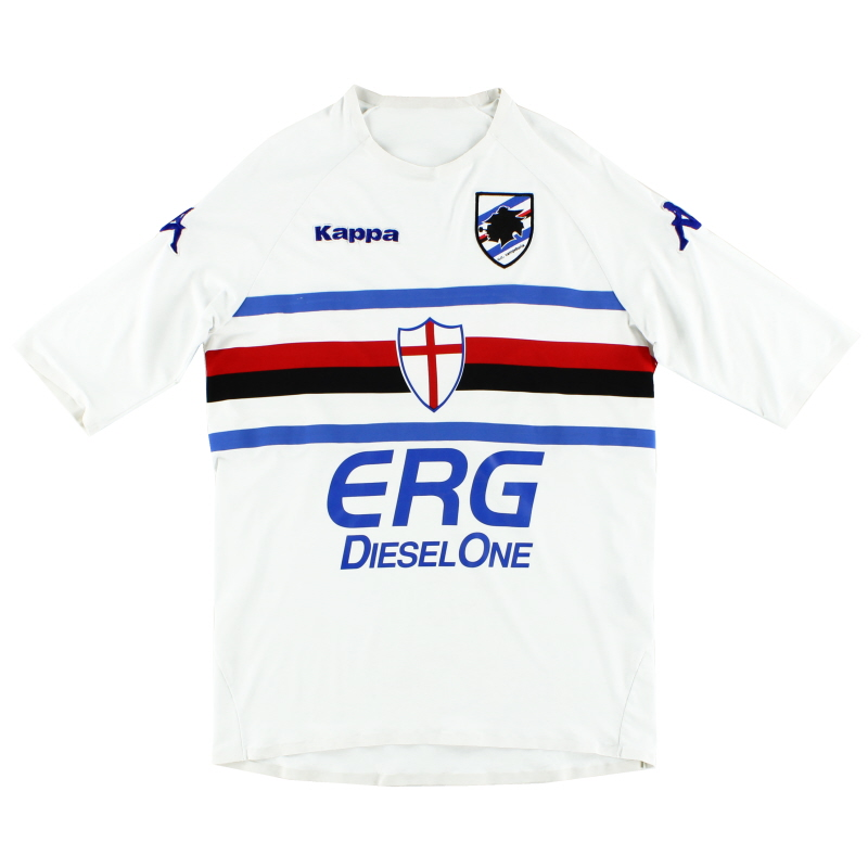2009-10 Sampdoria Away Shirt S