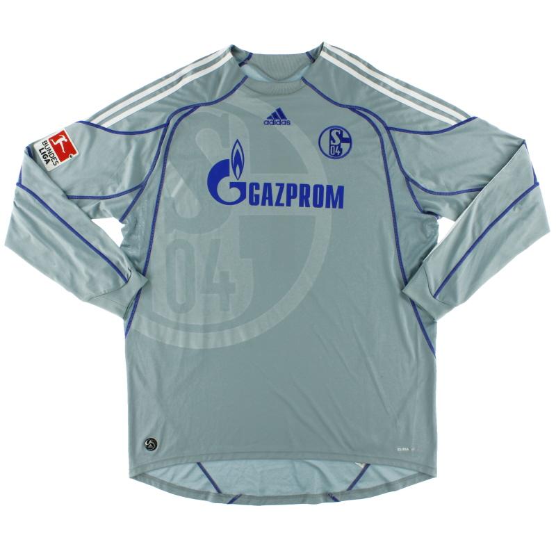 2009-10 Schalke Goalkeeper Shirt #1 XXL - E83619
