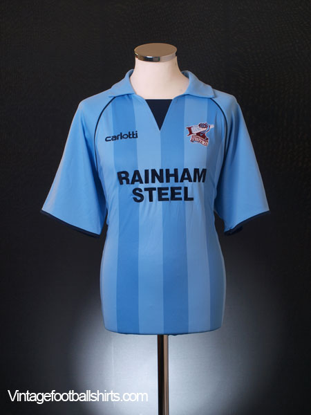 2009-10 Scunthorpe Away Shirt L