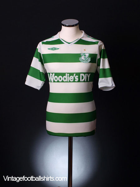 2009-10 Shamrock Rovers Home Shirt S