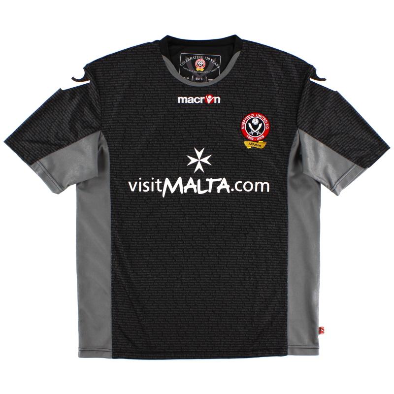 2009-10 Sheffield United Macron '120 Years' Third Shirt XXL