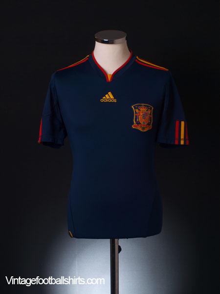 2010-11 Spain Away Shirt XL.Boys