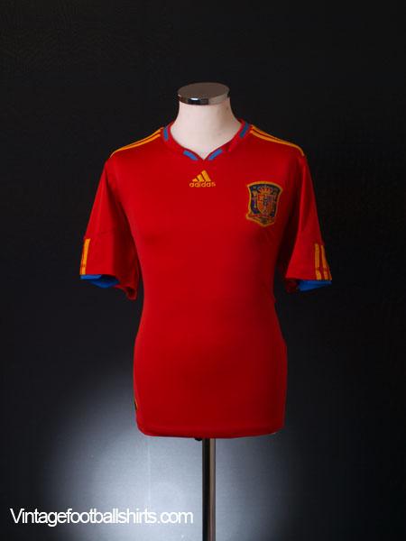 2009-10 Spain Home Shirt M.Boys