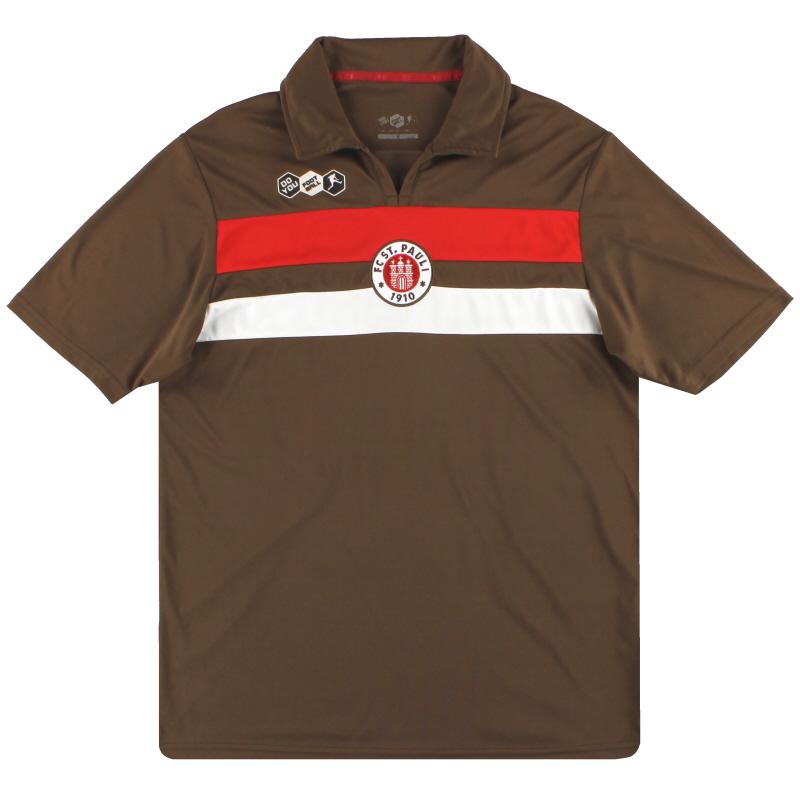 2009-10 St Pauli Player Issue Home Shirt #16 M
