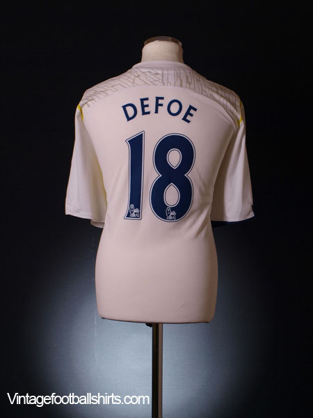 2009-10 Tottenham Home Shirt Defoe #18 XXL