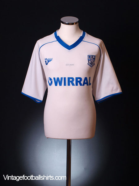 2009-10 Tranmere Rovers '125 Years' Home Shirt XL
