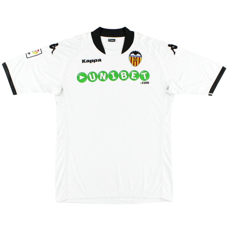 2009-10 Valencia Home Shirt M