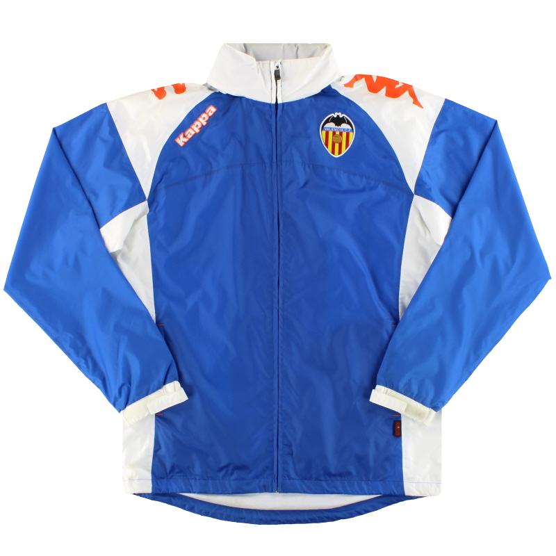 2009-10 Valencia Kappa Hooded Rain Coat *Mint* L