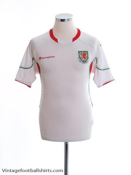 2009-10 Wales Away Shirt S