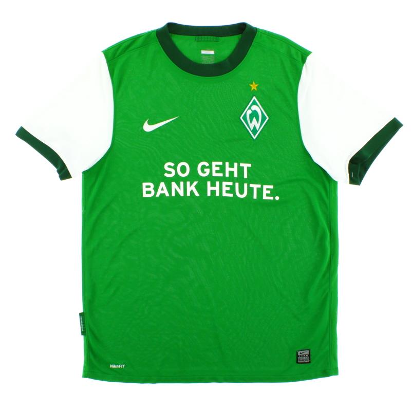 2009-10 Werder Bremen Home Shirt M