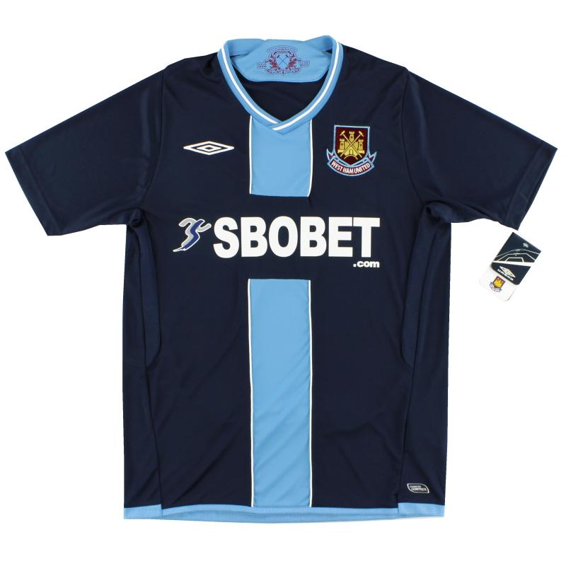 2009-10 West Ham Umbro Away Shirt *w/tags* M - 726002