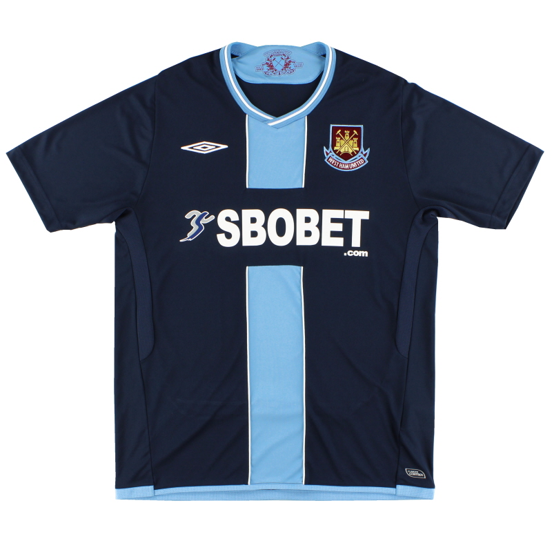 2009-10 West Ham Umbro Away Shirt L
