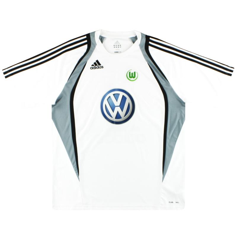 2009-10 Wolfsburg adidas Training Shirt XL - 167106