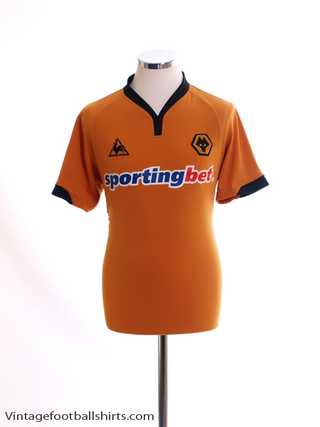 2009-10 Wolves Home Shirt L