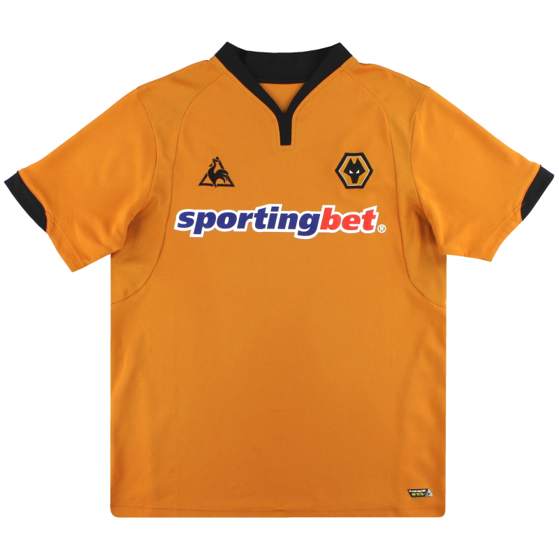 2009-10 Wolves Le Coq Sportif Home Shirt XL - 15083