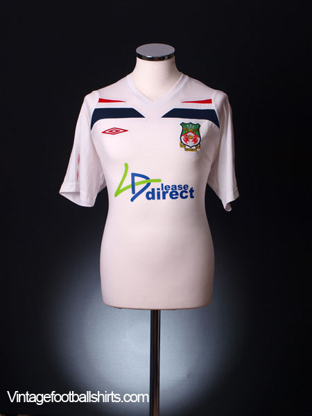 2009-10 Wrexham Away Shirt *Mint* M