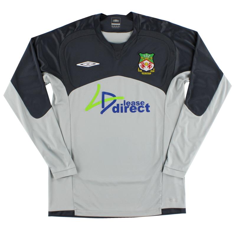 2009-10 Wrexham Umbro Goalkeeper Shirt S