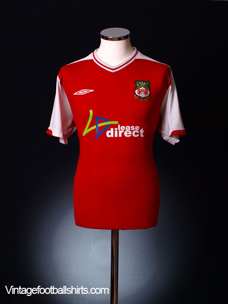 2009-10 Wrexham Home Shirt L