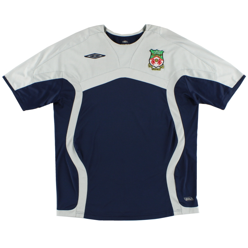 2009-10 Wrexham Umbro Training Shirt L