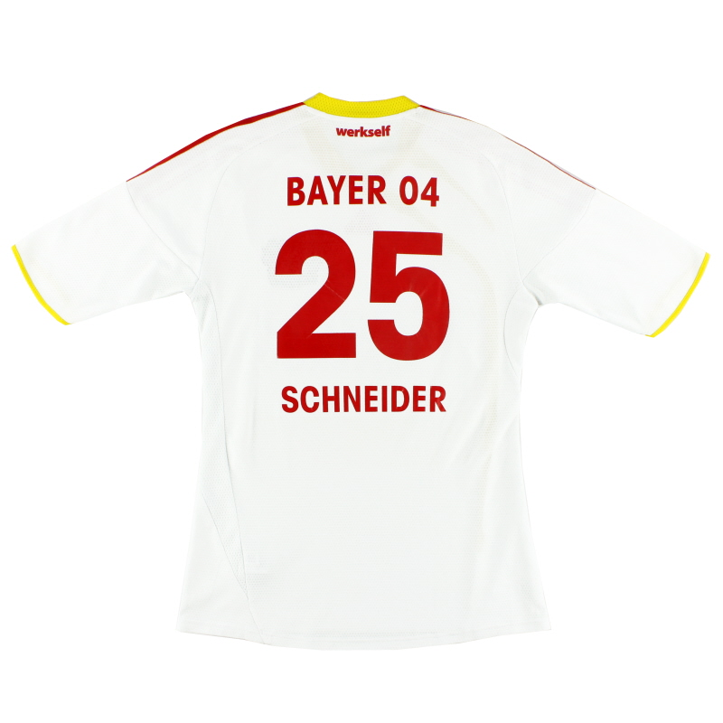 2009-11 Bayer Leverkusen Away Shirt Schneider #25 S - E83717