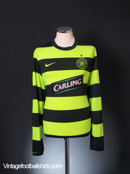 2009-11 Celtic Away Shirt L/S L