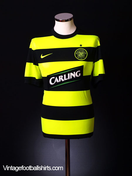 2009-11 Celtic Away Shirt L