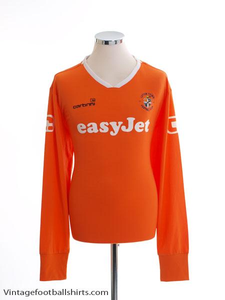 2009-11 Luton Town Home Shirt L/S XL