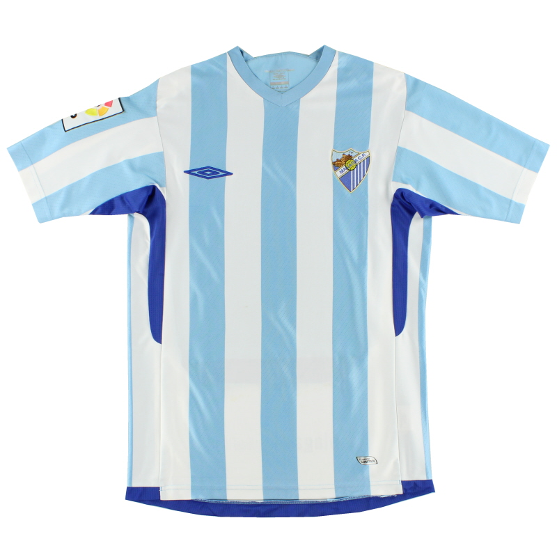 2009-11 Malaga Home Shirt S