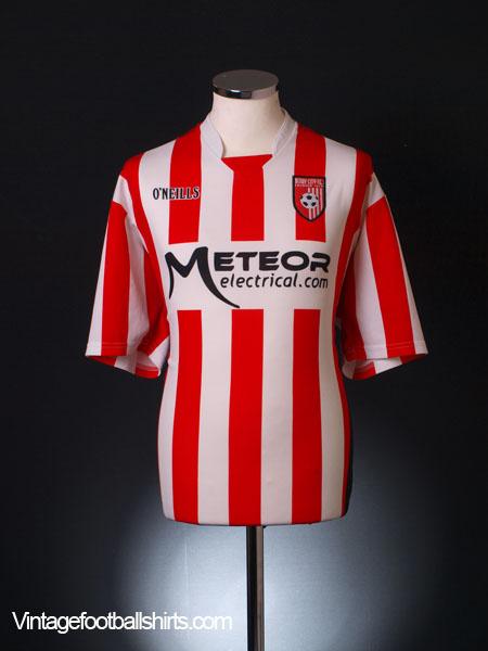 2009 Derry City Home Shirt L