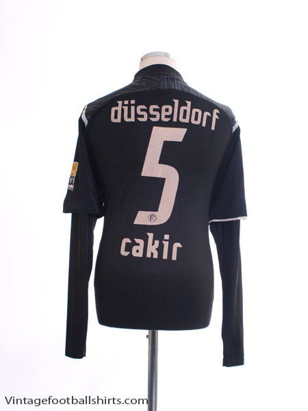 2009 Fortuna Dusseldorf Match Issue Away Shirt Cakir #5 L